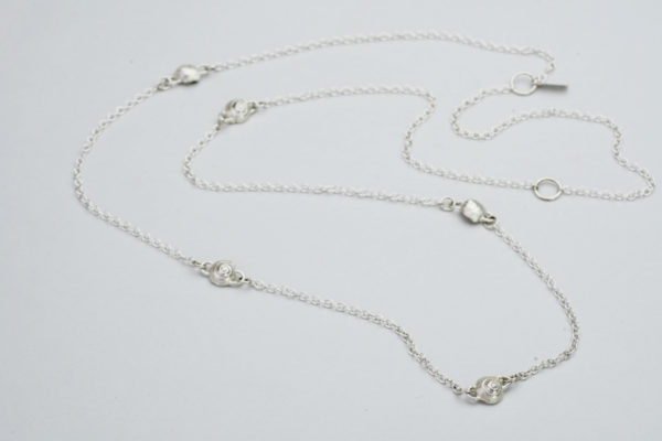 AK long snail necklace
