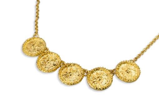 AK zoanthid 5 gold closeup