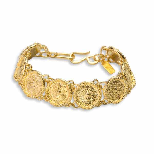 AK zoanthid bracelet gold 2 top