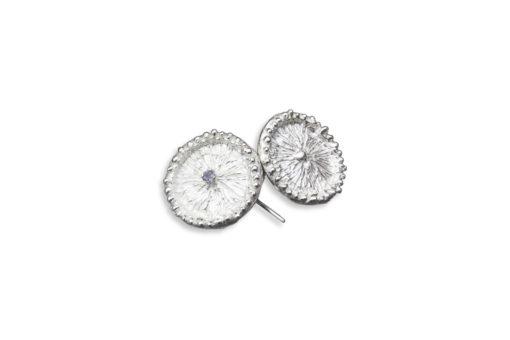 Alohi Kai Zoanthid earrings front