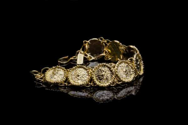 Alohi kai Zoanthid Anemone Luxe Link Bracelet