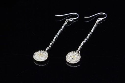 Alohi Kai Tiny Mushroom Coral Dangle Earrings