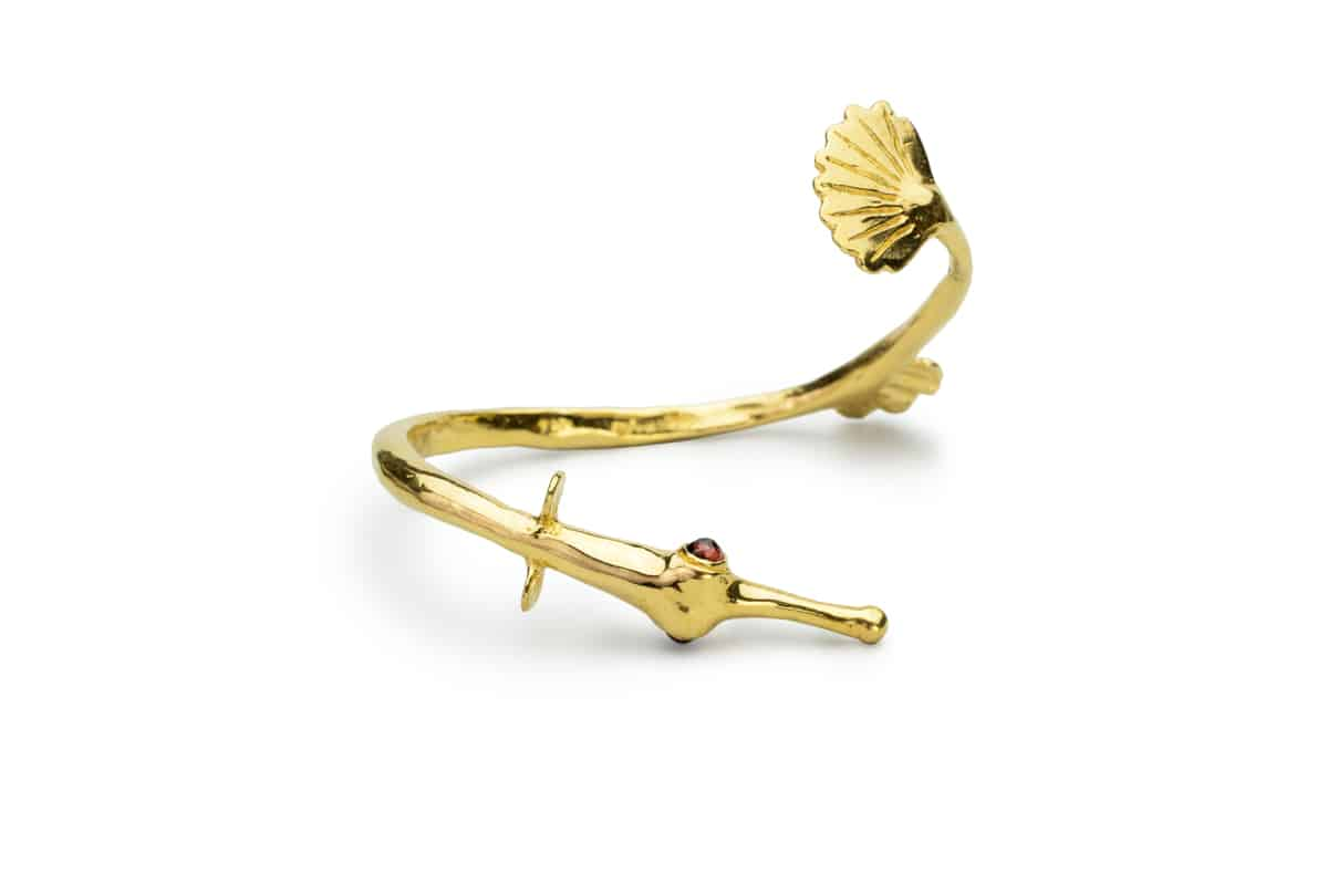pipefish cuff bracelet