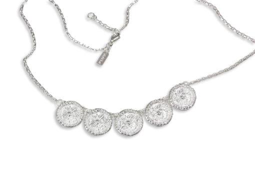 Alohi Kai Zoanthid 5 necklace white