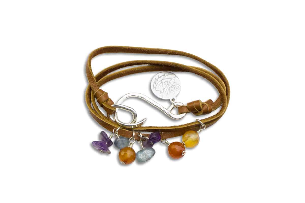 Alohi Kai reef fiesta BCH Wrap Bracelet