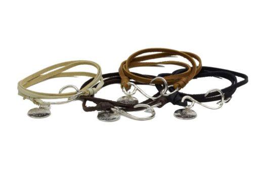 BCH deerskin bracelet colors