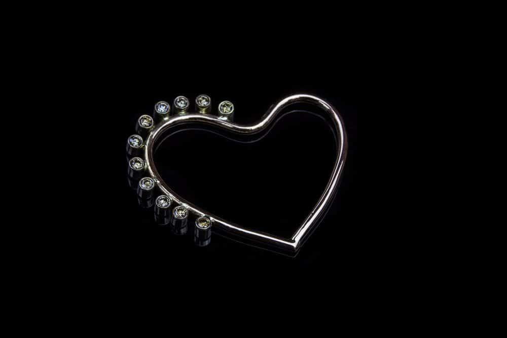 Alohi Kai Rose Gold Heart 2