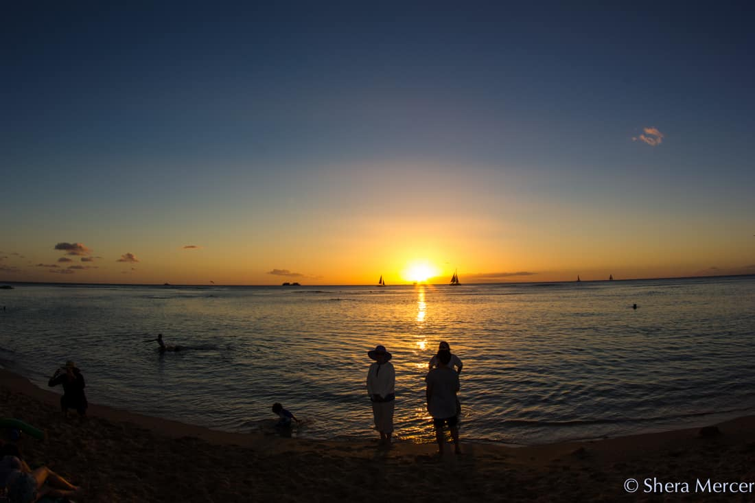Hawaii sunset 1