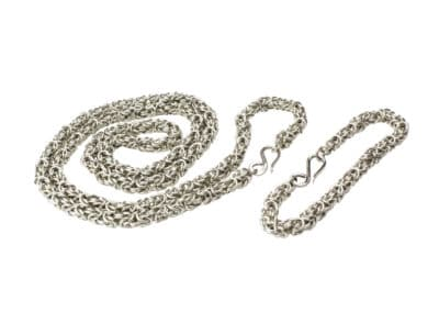 Byzantine Chain in White Gold