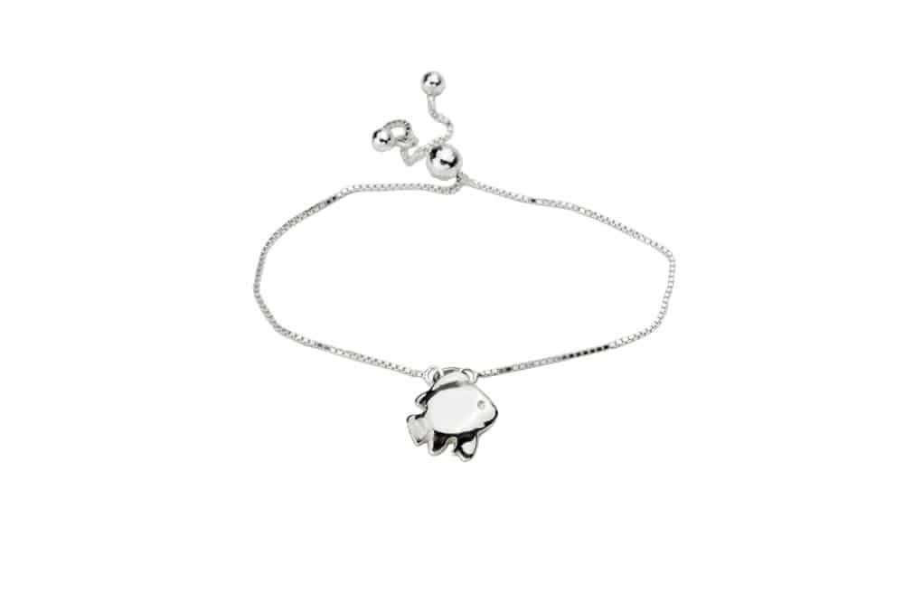 Hononu by 'Alohi Kai damselfish tassel necklace