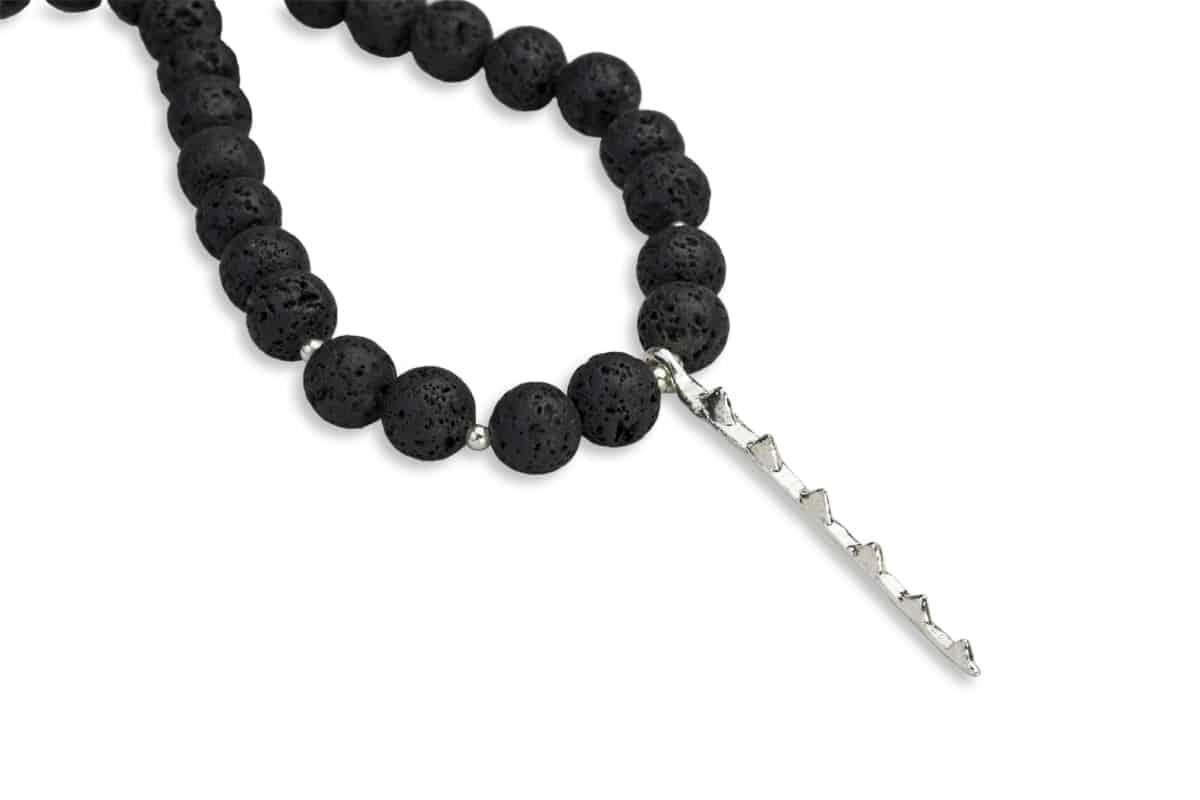 ahi lava necklace