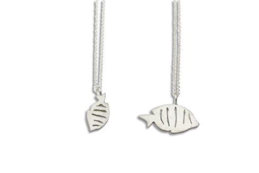 Hohonu FISH manini compare necklace