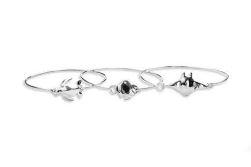 AK link bracelet trio