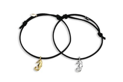 Hohonu adj bracelet seahorse whole black