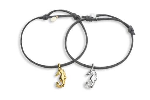 Hohonu adj bracelet seahorse whole grey
