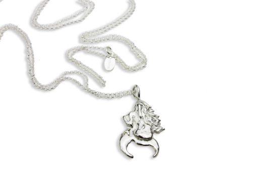 Hohonu dream long necklace rear
