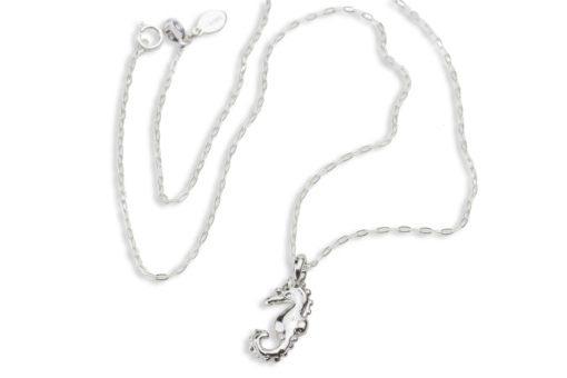 Hohonu seahorse necklace