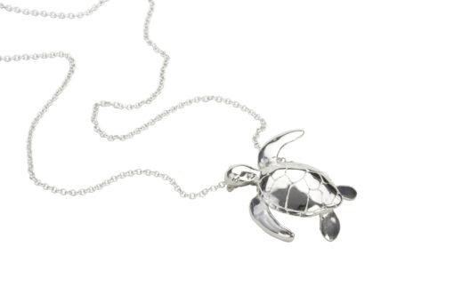 Alohi Kai Swimming Honu Turtle Long Chain