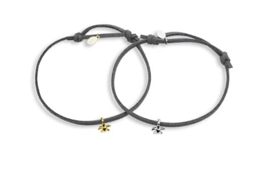 Hohonu adj bracelet tiny honu whole grey