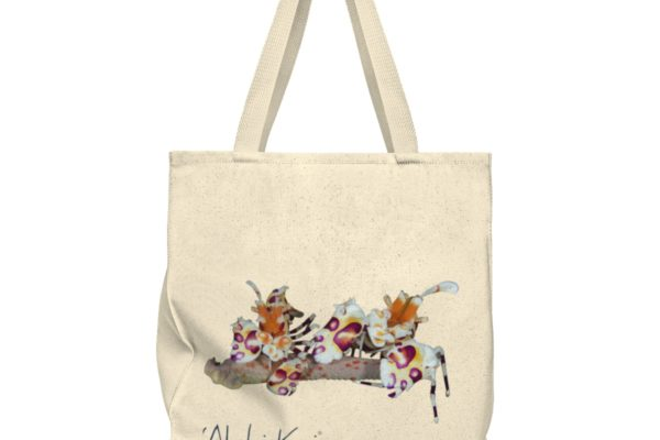 Harlequin shrimp lovers tote
