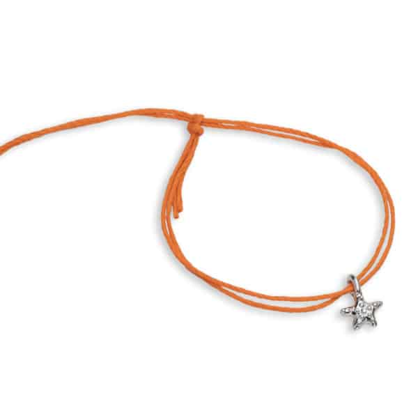 sea star bamboo cord pull bracelets
