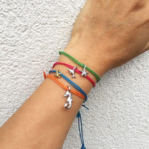 bamboo pull bracelets on wrist