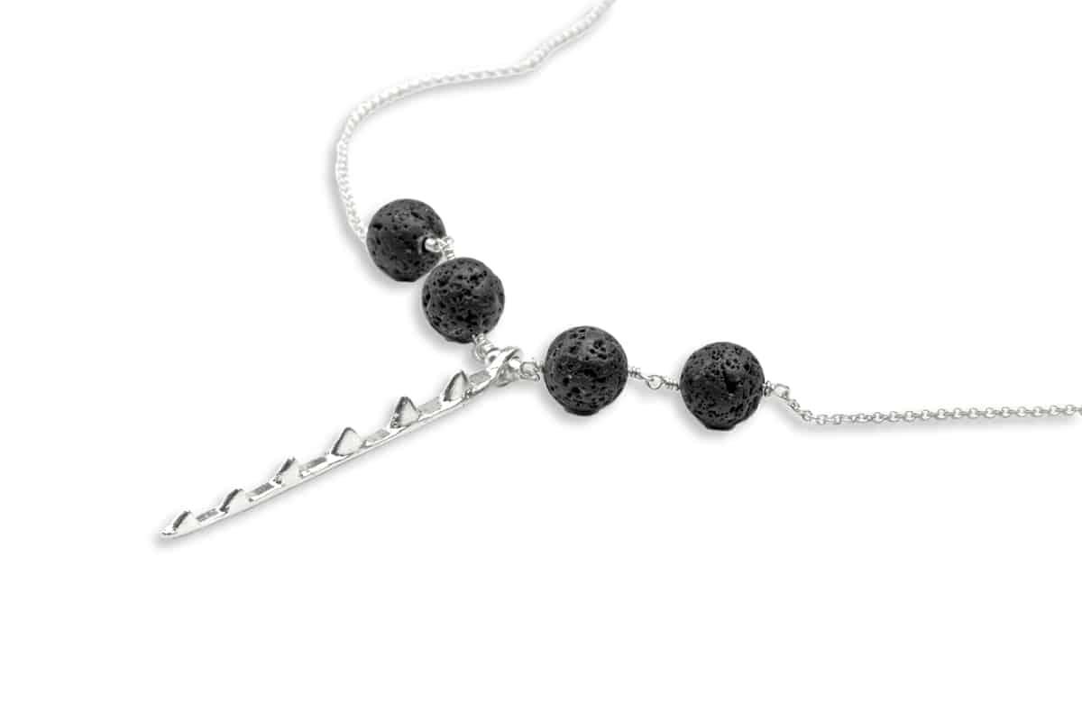 4 lava ahi necklace