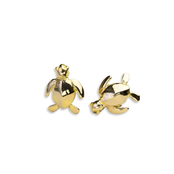 AK honu cufflinks gold I