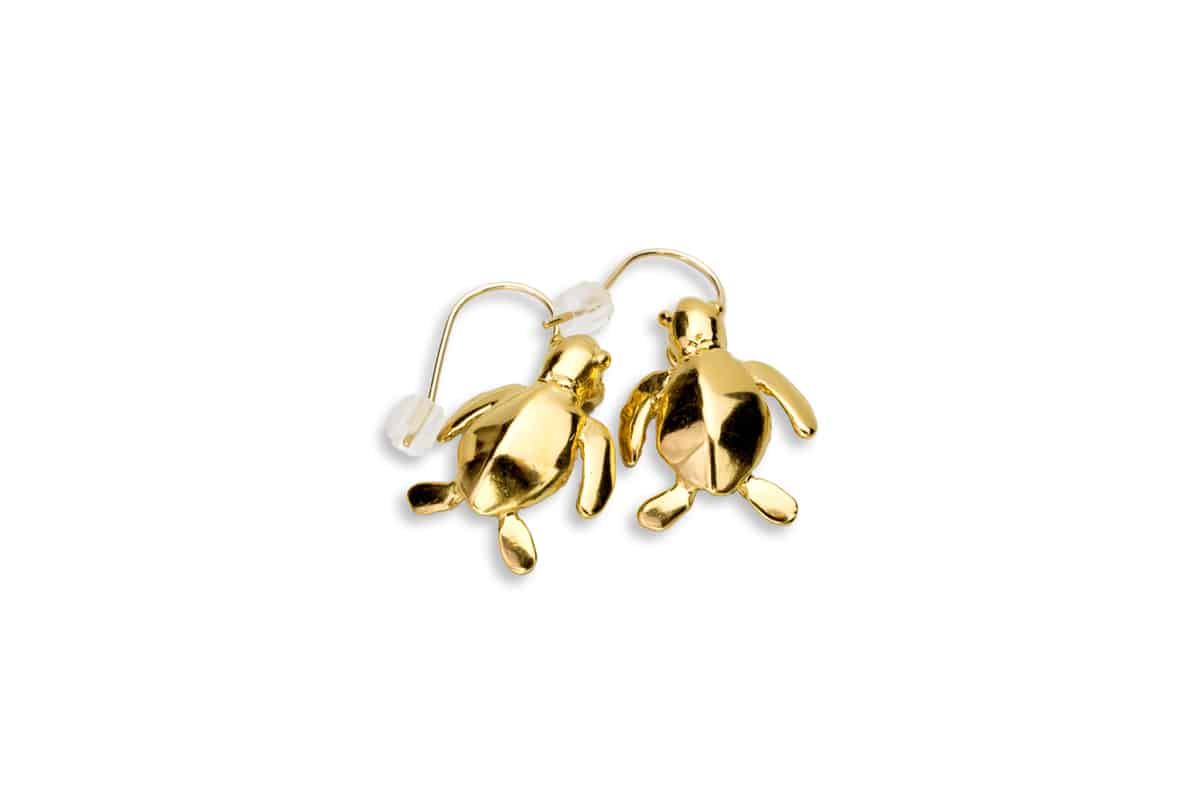 Honu Iki gemstone earrings