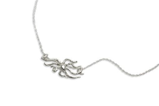 night octopus necklace