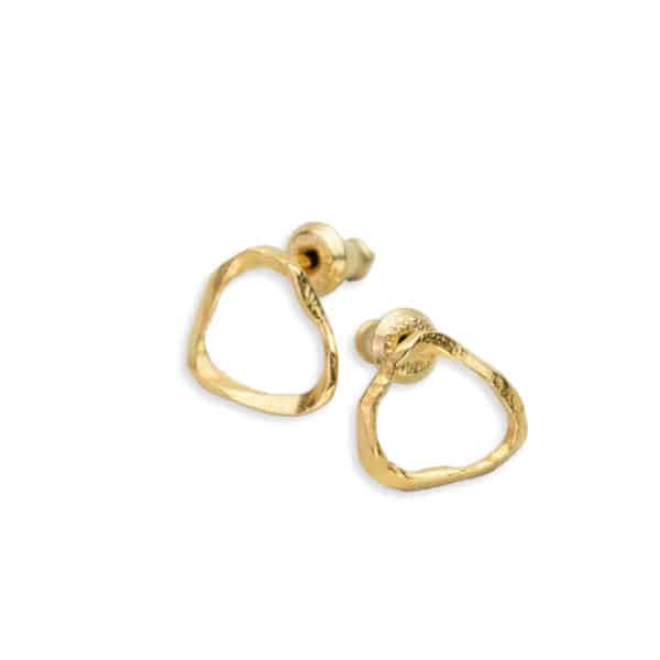 AK ola wai small earrings gold