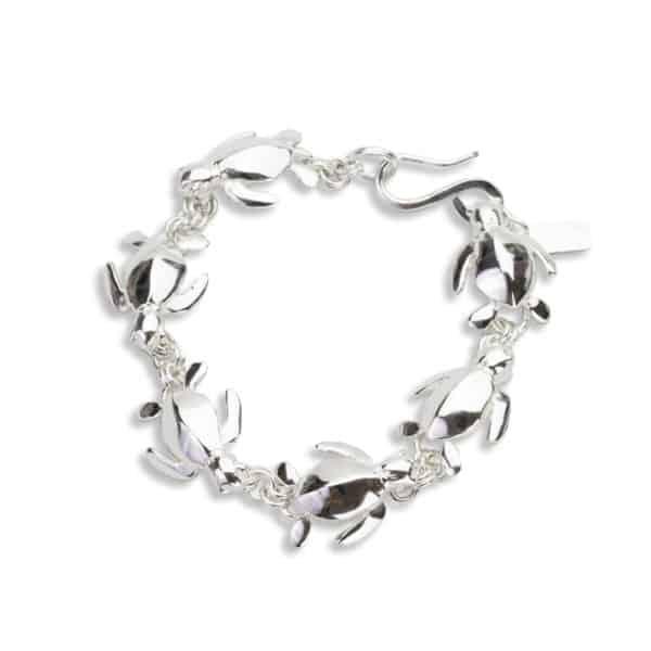 AK honu iki link bracelet circle