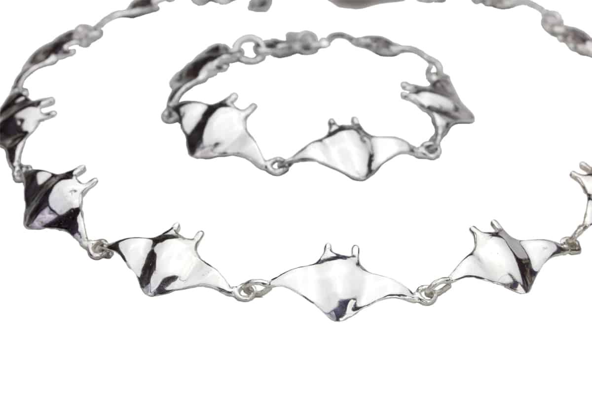 Alohi Kai manta link solo bracelet