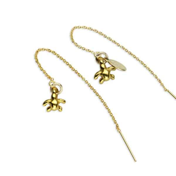 Hohonu Tiny Honu gold threaders
