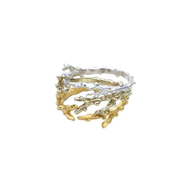 AK limu ombre branch ring stack