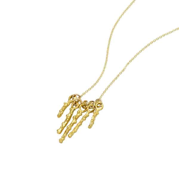 AK limu quintet necklace Gold