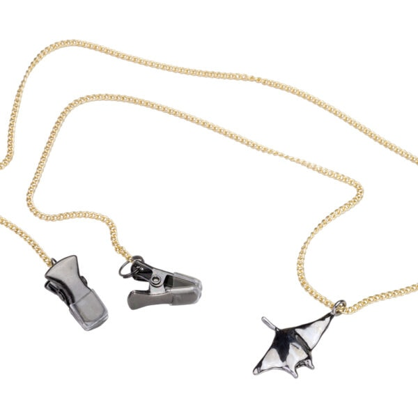 mask chain brass-manta ray whole